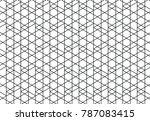 pattern vector line graphic... | Shutterstock .eps vector #787083415