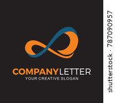 company logo  digital  internet ... | Shutterstock .eps vector #787090957