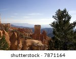 scenic view of bryce canyon... | Shutterstock . vector #7871164