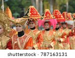 padang  west sumatra  indonesia ... | Shutterstock . vector #787163131