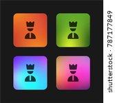 command four color gradient app ... | Shutterstock .eps vector #787177849