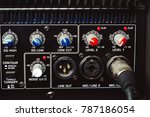 sound connectors included in...   Shutterstock . vector #787186054