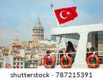 istanbul  turkey   april 23 ... | Shutterstock . vector #787215391
