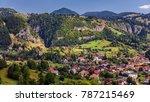 summer alpine transylvania... | Shutterstock . vector #787215469