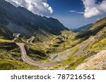 transfagarasan pass in summer.... | Shutterstock . vector #787216561