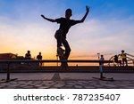 samut prakan  thailand  ... | Shutterstock . vector #787235407