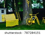 great time with bicycle and... | Shutterstock . vector #787284151