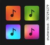 composer four color gradient...   Shutterstock .eps vector #787291279