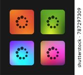 circles loader four color... | Shutterstock .eps vector #787297309