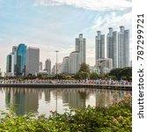 bangkok thailand   august 12 ... | Shutterstock . vector #787299721