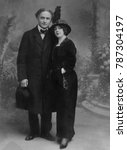 Harry And Beatrice Houdini In...
