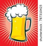 beer vector file | Shutterstock .eps vector #787310425