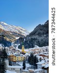 ischgl  austria   december 29 ... | Shutterstock . vector #787344625