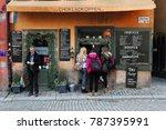 stockholm  sweden   february... | Shutterstock . vector #787395991