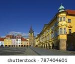 bohemian paradise  town jicin   ...   Shutterstock . vector #787404601