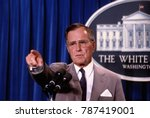 washington  dc. usa  1990... | Shutterstock . vector #787419001
