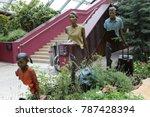 statues of la famille de... | Shutterstock . vector #787428394