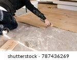 renovation of an apartment ...   Shutterstock . vector #787436269
