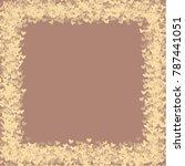 heart brown vector which... | Shutterstock .eps vector #787441051