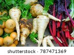 colorful fresh winter root...   Shutterstock . vector #787471369
