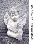 Figure Of Cute Little Cupid...