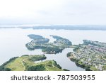clouds and mist floating in the ... | Shutterstock . vector #787503955