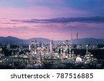 glitter lighting of... | Shutterstock . vector #787516885
