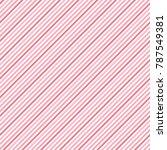 plum stripes seamless pattern.... | Shutterstock .eps vector #787549381