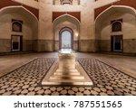 humayun tomb  delhi  india ... | Shutterstock . vector #787551565