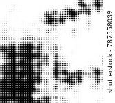 abstract halftone background.... | Shutterstock .eps vector #787558039