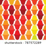colorful curve abstract... | Shutterstock .eps vector #787572289