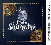 illustration of happy maha... | Shutterstock .eps vector #787572571