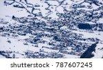 top shot   drone shot of a...   Shutterstock . vector #787607245