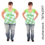 before and after shot of 45... | Shutterstock . vector #78762097
