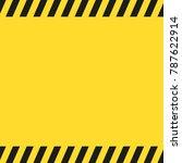industrial hazard background | Shutterstock .eps vector #787622914