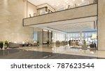 3d rendering luxury hotel... | Shutterstock . vector #787623544