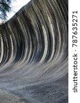 afternoon at wave rock  hyden ...   Shutterstock . vector #787635271