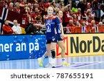 stine oftedal goal celebration... | Shutterstock . vector #787655191