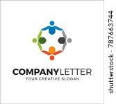 company logo  social | Shutterstock .eps vector #787663744