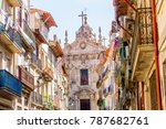 typical street of the city of...   Shutterstock . vector #787682761