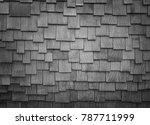 old plank wood texture. wood... | Shutterstock . vector #787711999