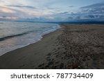 sea of versilia | Shutterstock . vector #787734409