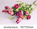 Dry Roses Bouquet