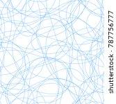 seamless pattern of endless... | Shutterstock .eps vector #787756777