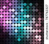 vector background from circles  ... | Shutterstock .eps vector #787762327
