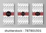 design of vector leaflet with...   Shutterstock .eps vector #787801501