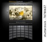 creative website portfolio...   Shutterstock .eps vector #78780637
