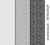 confetti seamless pattern for...   Shutterstock .eps vector #787814029