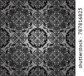 seamless geometric pattern.... | Shutterstock .eps vector #787816825