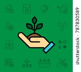 set of agriculture icons.... | Shutterstock .eps vector #787830589